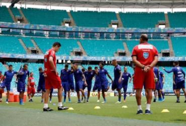 Com desfalques e novidades, Bahia está escalado para confronto com o Palmeiras | Felipe Oliveira | EC Bahia