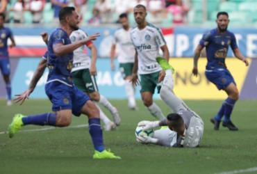 Bahia empata com o Palmeiras e mantém jejum na Fonte Nova | Uendel Galter | Ag. A TARDE