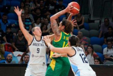 Brasil bate Argentina e se garante no Pré-Olímpico Mundial de Basquete   Divulgação   CBB