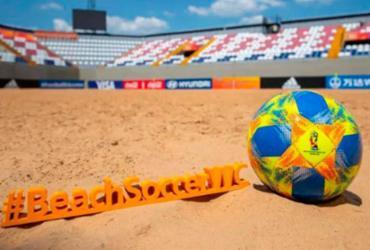 Brasil busca o hexa na Copa do Mundo de Futebol de Areia   Reprodução   Twitter