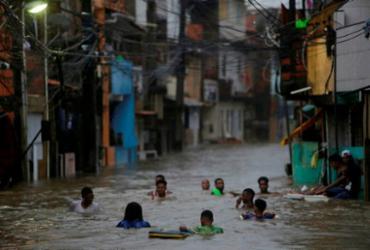 Devido às fortes chuvas, Salvador registra mais de 1.500 ocorrências em dois dias | Raphael Muller | Ag. A TARDE