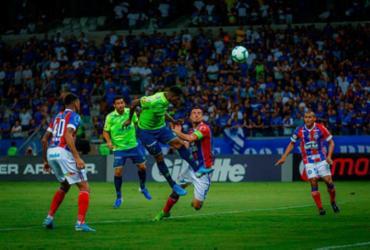 Com um a mais, Bahia permite empate do Cruzeiro | Vinnicius Silva/Cruzeiro