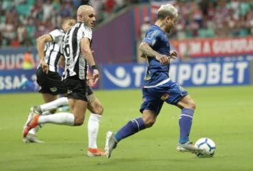 Bahia empata em casa e chega a nove jogos sem vencer | Uendel Galter | Ag. A TARDE