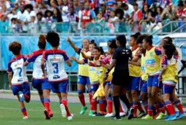 Com goleada, equipe feminina do Bahia conquista Baianão e garante vaga na Série B | Divulgação | EC Bahia