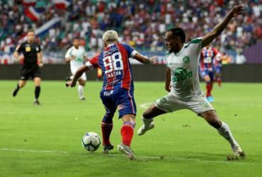 Bahia empata com Chapecoense e completa 5º jogo sem vencer no Brasileiro | Uendel Galter | Ag. A TARDE