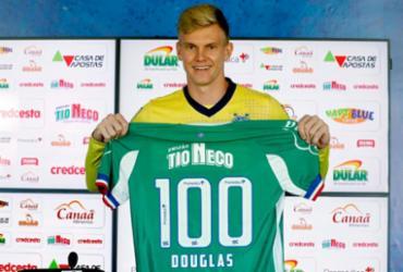 Duelo com o Palmeiras marca jogo número 100 de Douglas pelo Bahia | Felipe Oliveira | EC Bahia