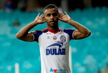 Élber alcança a marca de 100 jogos com a camisa do Bahia diante do Cruzeiro | Felipe Oliveira | EC Bahia