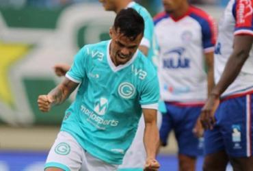 Em partida de sete gols, Bahia sofre revés diante do Goiás no Serra Dourada | Heber Gomes | AGIF