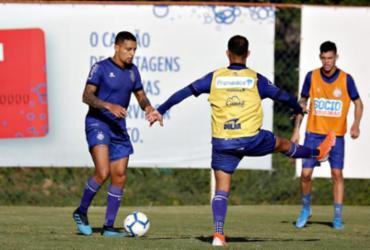 Com treino técnico, Bahia encerra preparação para duelo contra a Chapecoense | Felipe Oliveira | EC Bahia
