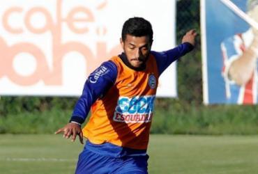 Em rede social, Rogério responsabiliza treinador por falta de espaço no Bahia | Felipe Oliveira | EC Bahia