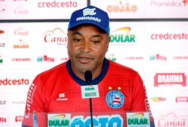 Roger Machado admite pressão no Bahia por resultados positivos | Felipe Oliveira | EC Bahia