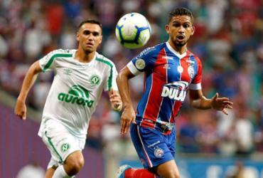 Marco Antônio é vetado e desfalca o Bahia contra o Palmeiras | Felipe Oliveira | EC Bahia
