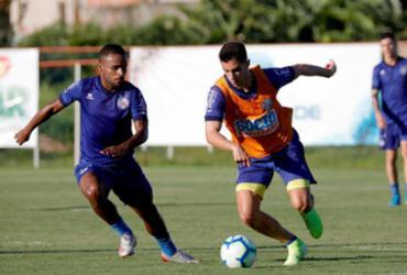 Sem folga: Bahia aproveita feriado para testar equipe titular | Felipe Oliveira | EC Bahia