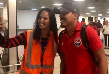 Após conquistar a permanência, Vitória desembarca em Salvador e tira folga | Divulgação | EC Vitória