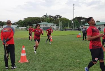 Geninho segue sem definição na defesa para vaga de Everton Sena | Divulgação | EC Vitória