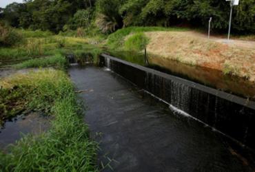 Embasa desmente boatos e afasta risco de rompimento da barragem de Pituaçu | Raul Spinassé | Ag. A TARDE