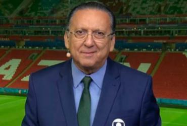 Galvão Bueno é internado no Peru e Luis Roberto narra final da Libertadores | Reprodução