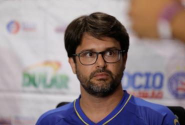 Após apelo de Lídice, Bellintani diz que está focado no Bahia | Tiago Caldas | Ag. A Tarde