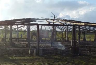 Centro de ritual pataxó na Bahia é incendiado | Reprodução | Twitter