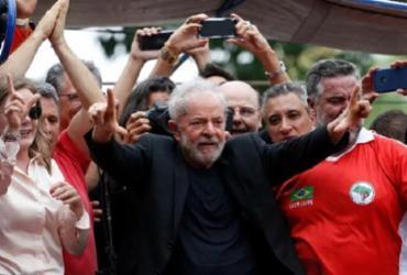 Em discurso, Lula ataca ministro Sérgio Moro e procurador Dallagnol | Werther Santana/Estadão
