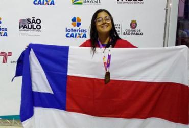 Atletas de Jequié garantem medalhas para a Bahia nas Paralimpíadas Escolares   Hilda Fausto   Sudesb