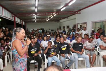 Moradores participam da audiência do Planos de Bairro em Itinga