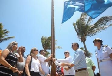 Praia de Guarajuba recebe certificado internacional de qualidade | Felipe Iruatã | Ag. A TARDE