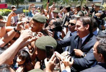 Bolsonaro reitera apoio a excludente de ilicitude em operações   Tomaz Silva   Agência Brasil