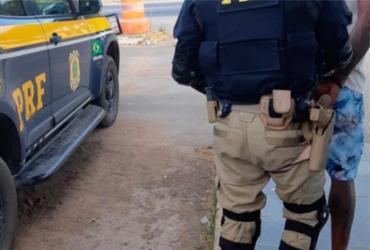 Acusado de participação em estupro é preso em Ribeira do Pombal | Divulgação | PRF