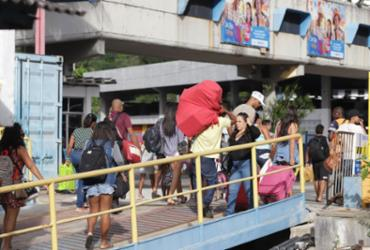 Rodoviária e ferry-boat contam com sistema especial para o feriadão | Uendel Galter | Ag. A TARDE