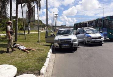 Homem é detido após roubo de carro em Mussurunga | Divulgação | SSP