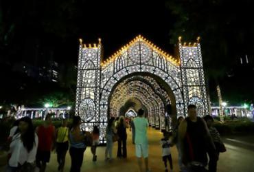 Confira os cliques da abertura da programação de Natal no Campo Grande |