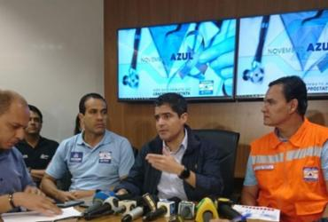 Agentes da Codesal estão monitorando as encostas, diz ACM Neto | Raul Aguillar | Ag. A TARDE