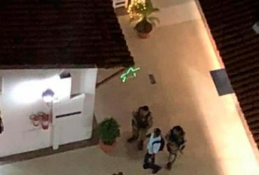 Loja de shopping no Imbuí sofre tentativa de assalto | Reprodução | Cidadão Repórter