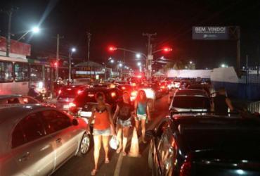 'Feriadão' provoca caos no trânsito e filas | Felipe Iruatã | Ag. A TARDE