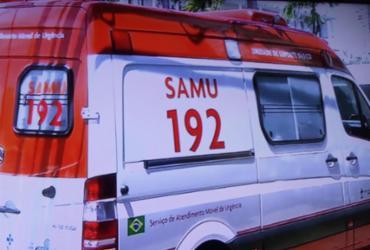 Homem é baleado em frente a hospital no bairro de Brotas | Reprodução | TV Record Bahia