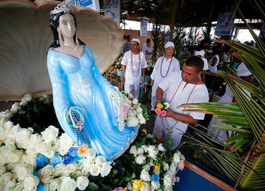 Festa de Iemanjá será reconhecida como Patrimônio Imaterial de Salvador | Raphael Muller | Ag. A TARDE