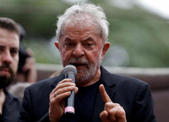 Lula vai falar ao povo em Salvador? Em princípio, não. Mas talvez... | Miguel Schincariol | AFP