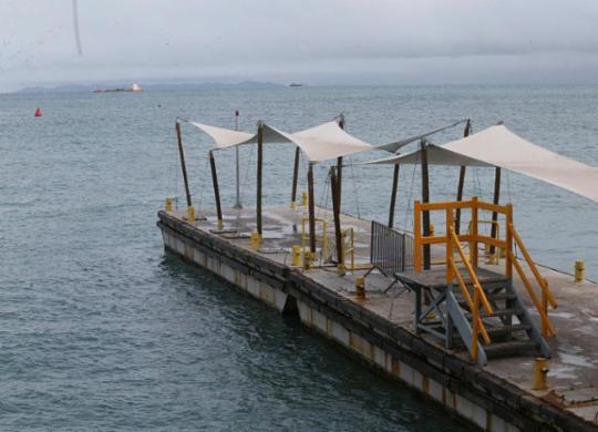 Travessia Mar Grande-Salvador é suspensa por causa da chuva | Margarida Neide | Ag. A Tarde