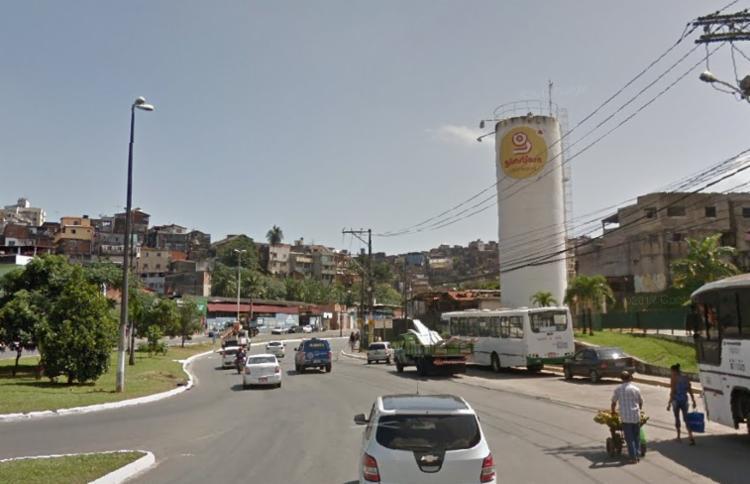Acidente foi registrado durante a madrugada   Foto: Reprodução   Google Street View - Foto: Reprodução   Google Street View