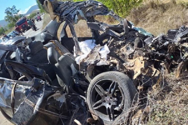 Vítima conduzia carro de passeio | Foto: Reprodução | Blog do Anderson - Foto: Reprodução | Blog do Anderson