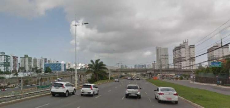 Acidente aconteceu por volta das 5h no sentido rodoviária | Foto: Reprovado | Google Street View - Foto: Reprovado | Google Street View