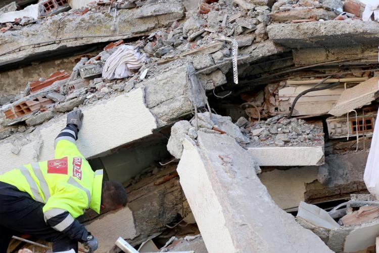 Terremoto atingiu 6,4 graus de magnitude   Foto: AFP - Foto: AFP