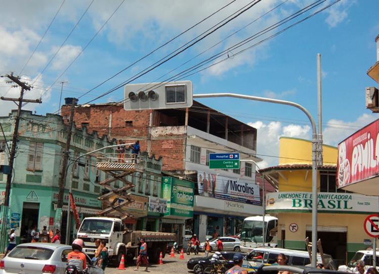 Dupla suspeita foi localizada no centro da cidade logo após o roubo | Foto: Divulgação - Foto: Divulgação