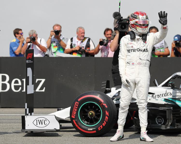 Hexacampeonato antecipado não tirou sua motivação para ganhar o GP do Brasil de Fórmula 1 | Foto: Jan Woitas | AFP - Foto: Jan Woitas | AFP