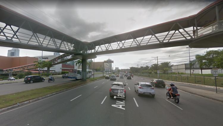 Retorno em frente ao CEO Salvador Shopping continuará aberto   Foto: Reprodução   Google Maps - Foto: Reprodução   Google Maps