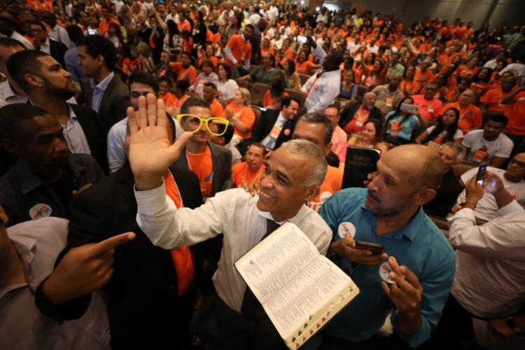 Encontro do Avante reuniu militantes e apoiadores do deputado | Foto: Raul Spinassé | Ag. A TARDE