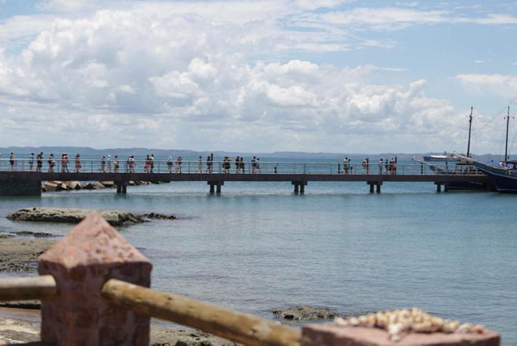 Ideia é fomentar o turismo na região de maneira segura | Foto: Joá Souza | Ag. A TARDE - Foto: Joá Souza | Ag. A TARDE