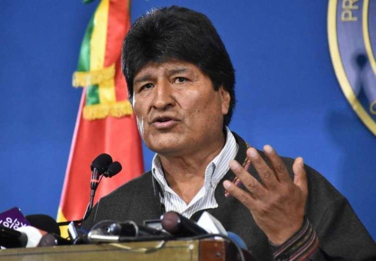 Morales havia vencido a reeleição em outubro em uma votação questionada | Foto: Presidência de Bolívia | AFP - Foto: Presidência de Bolívia | AFP