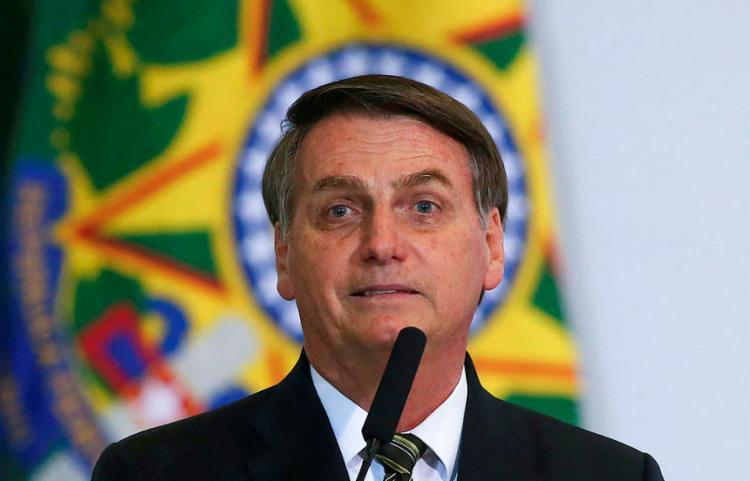 Presidente não cita nomes, mas deixa evidente que comentário é sobre Lula | Foto: Sérgio Lima | AFP - Foto: Sérgio Lima | AFP